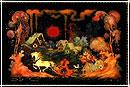 Палехские шкатулки: волшебные ларчики