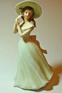 Уход за фарфоровыми статуэтками: чистка и хранение