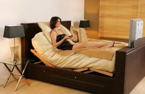 Царское ложе - кровать с выдвижным телевизором