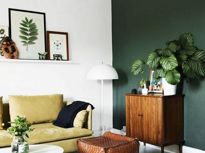 Картинки по запросу зеленый цвет в интерьере