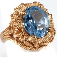Когда носить кольцо с топазом: уместные случаи