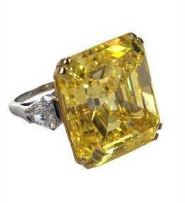 В Голландии продан уникальный желтый бриллиант