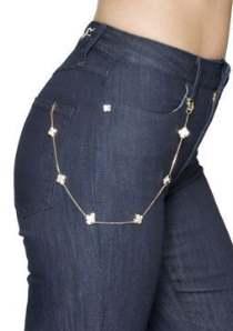 Новый аксессуар – украшения для джинсов
