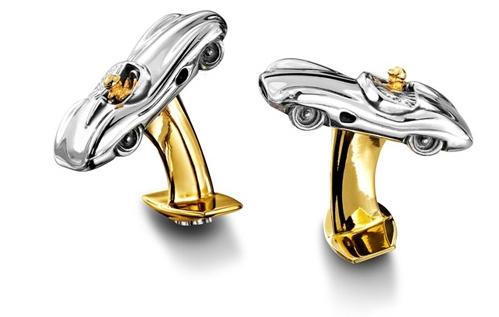 Ювелирные запонки для поклонников Aston Martin