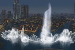 В Дубаи появится самый большой в мире фонтан