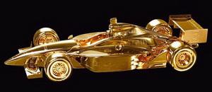 Mike Dunlap представляет золотые скульптуры автомобилей