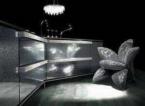 INO Meuble Crystal превратит кухню в сокровищницу