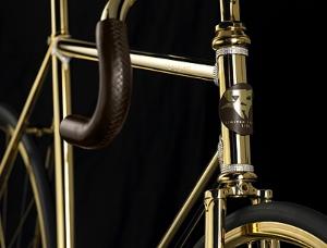 Новое слово в спорте: золотой велосипед