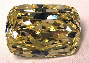 Служба федеральных маршалов США выставляет на аукцион желтый бриллиант в 43.51 карата
