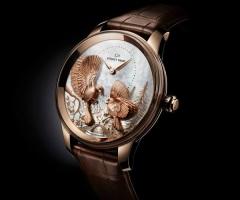 Часовая коллекция Petite Heure Minute Relief Seasons от Jaquet Droz