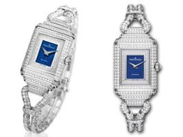 Бриллиантовые часы Reverso Duetto Cordonnet от Jaeger-LeCoultre