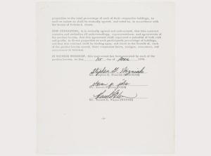 Договор об основании Apple продан за 1,59 миллиона долларов