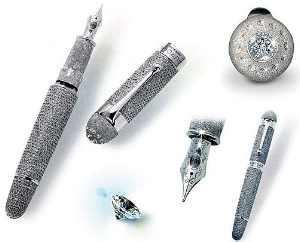 Самая дорогая в мире ручка стоит миллион евро