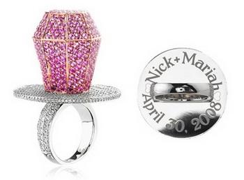 «Сладкое» украшение и сияющий кристаллами iPad - свадебные подарки для Мэрайи Кери