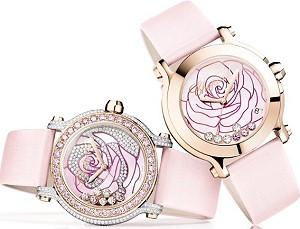 Chopard представил новую коллекцию часов Happy Sport La Vie En Rose Watches