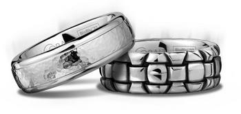 BioBlu 27 - обручальные кольца из металла от Скотта Кея