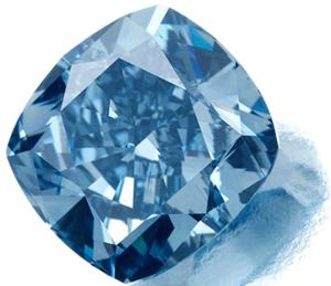 Sotheby's выставит на продажу 7-каратный голубой бриллиант