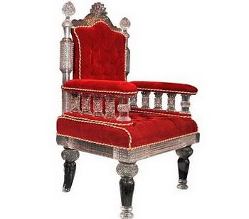 Хрустальное королевское кресло