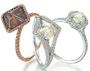 Свадебная ювелирная коллекция Diamond In The Rough