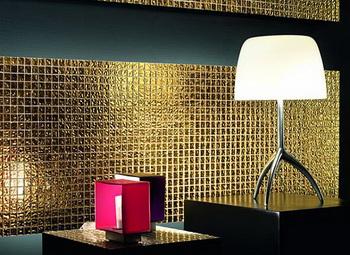 Плитка для ванной с золотом в 24 карата - расширение золотой коллекции Mosaico