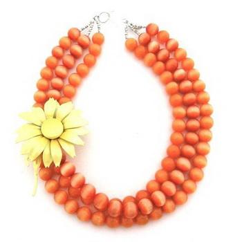 Яркие и прекрасные ожерелья от Elva Fields