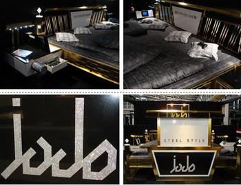 Компания Jado Steel Style выпустила самую дорогую в мире кровать