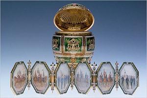 Ретроспективная выставка изделий Faberge