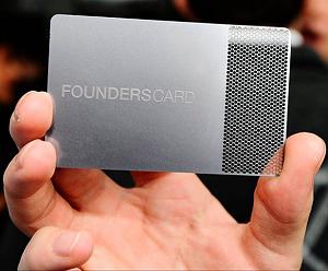 FoundersCard: роскошь для предпринимателей
