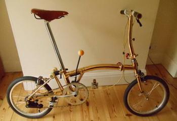 Позолоченный велосипед выставлен на продажу на eBay