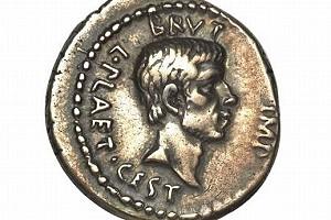 Монета «Мартовские иды» будет продана с аукциона