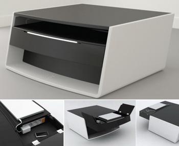 Функциональная мультимедийная мебель от Philippe Barsol
