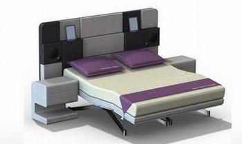 Hollandia iCon: первая в мире кровать для iPad