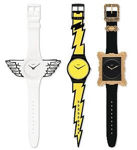 Дизайнер Джереми Скотт выпустил коллекцию часов для Swatch