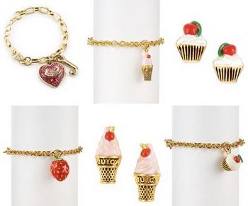 «Вкусные украшения» от Juicy Couture