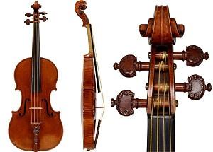 Скрипка Lady Blunt работы Страдивари будет продана с аукциона