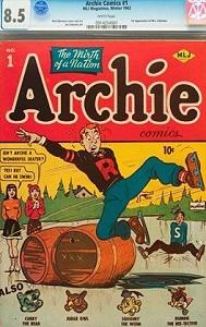 Первый выпуск комикса Archie установил рекорд цены