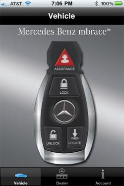 Обновленная версия Mbrace от Mercedes-Benz