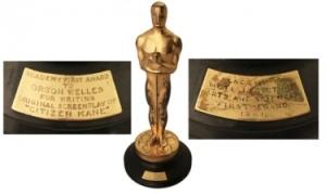 «Оскар» Орсона Уэллса продан с молотка за 861 542 доллара