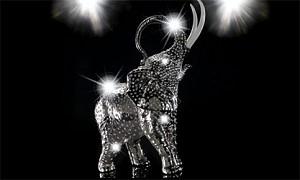 Компания Villari представила коллекцию фигурок животных с кристаллами Swarovski