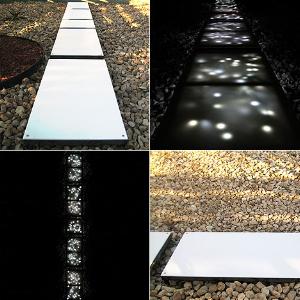 Подиум: плитка с подсветкой от Minimis