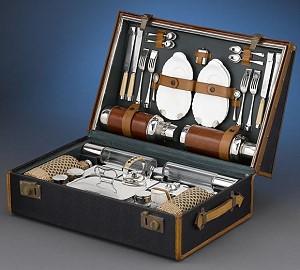Оригинальный набор для пикника от Rolls-Royce