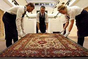 Старинный персидский ковер ушел с молотка за 4.34 миллиона долларов