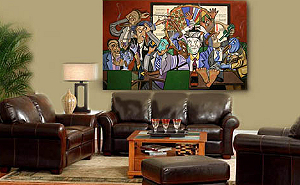 Картина Энтони Фальбо выставлена на аукцион