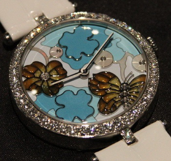 Женские часики Van Cleef & Arpels Extraordinary Butterfly