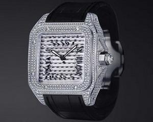 Cartier представляет ювелирные часы Santos Triple 100
