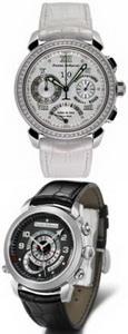 Pierre DeRoche представляет женские часы с бриллиантами GrandCliff Ice