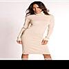 Платье-свитер: оптимальный вариант зимнего гардероба