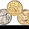 Классические золотые и серебряные памятные монеты