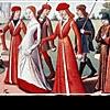 Женская мода в средние века: эволюция моды