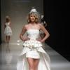 Короткие свадебные платья со шлейфом: возрождение традиций